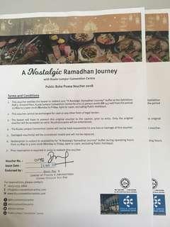2018 KLCC ramadhan voucher buffet