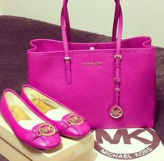 Authentic MK pink