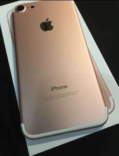 Iphone7 32gb 玫瑰金 good condition rose gold 99new