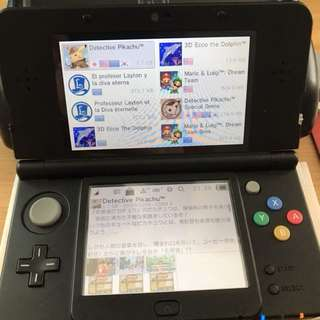 Modded New 3DS B9S 32gb
