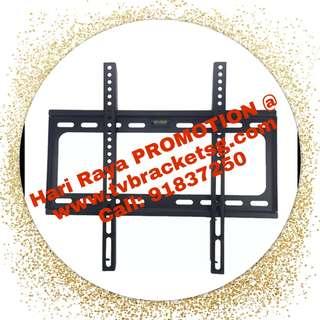 TV Bracket - Fixed Wall Mount **Hari Raya Promotion**