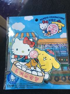 Sanrio 長洲版磁石貼