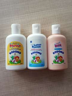 Kodomo Baby samples. Shampoo...  Powder