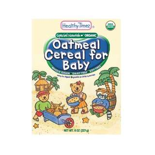 BN Unopened Healthy Times  Barley / Oatmeal organic baby cereal . Infant cereal. Retail selling 8.50 exp nov 18 onwards