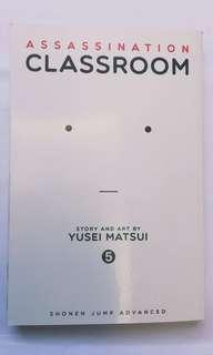 [MANGA] Assassination Classroom Manga Vol. 5