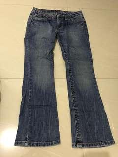 Human Bootcut Jeans