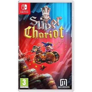 [NEW NOT USED] SWITCH Super Chariot Nintendo Maximum Platform Games
