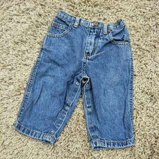 FADED GLORY BABY JEANS