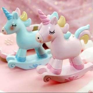 Unicorn figurine for Birthday Cake / cake topper