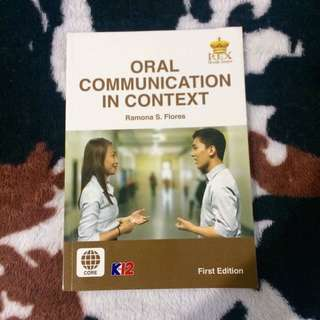 Oral Communication K12 Books