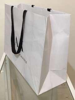 Armani Exchange紙袋 AX paper bag