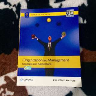 Organization & Management K12 Books