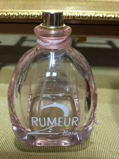 Rumeur Rose 2 perfume empty bottle