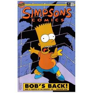 Simpsons Comics #2 (January 1994) - Bob's Back!