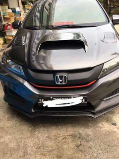 Honda City Modified Hood