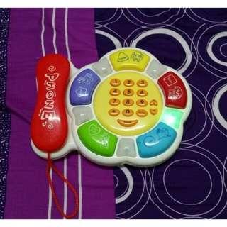 聲光電話機 電話玩具
