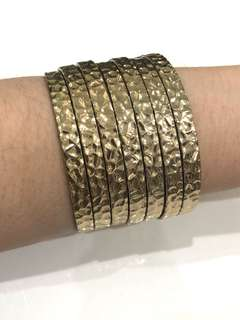 Gold Multiple Bangle