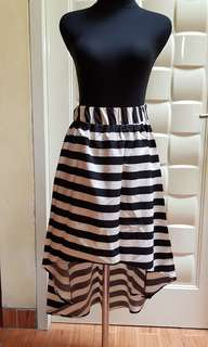 Rok stripes pinguin