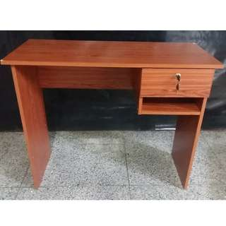 Office Table (Brand new) gray/cherry
