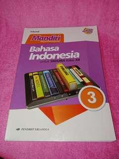 Buku Latihan Soal Mandiri Bahasa Indonesia Erlangga kelas XII