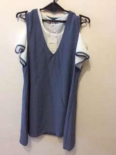 🚚 全新兩件式洋裝#100元好物