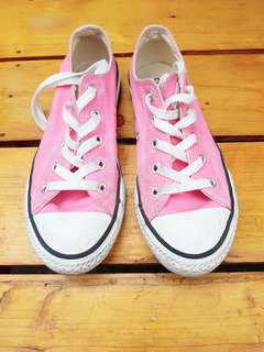 Pink converse for kids