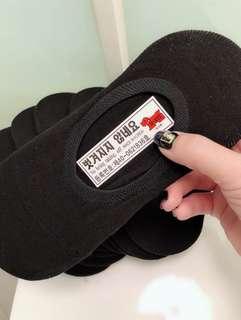 🚚 【現貨】🇰🇷正韓熱銷🇰🇷女隱形襪~黑