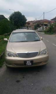 Toyota Camry 2.4 (A) Full spec 2002