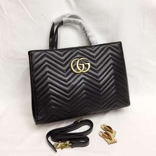 Gucci Marmot Leather Shoulder/Sling Bag