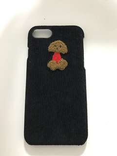 Poodle iphone 7 phone case