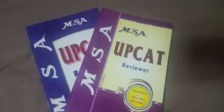 MSA book (review kung saang school)