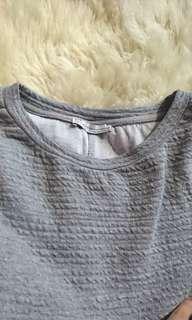 basic grey pullover