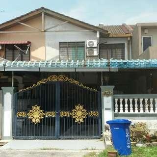 Double Storey Intermediate Terrace, Taman Alam Megah, Seksyen 28, Shah Alam