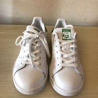 Adidas StanSmith史密斯綠尾小白鞋