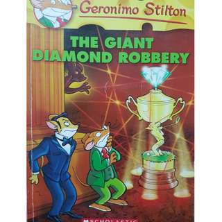 Geronimo Stilton-The Giant Diamond Robbery