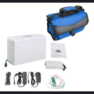 High Quality Warranty Portable Oxygen Concentrator Environmental Rich Oxygen Supply Mute Motor Oxygen Therapy Without Battery
