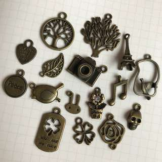 Bronze Charms