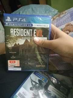 PS4 Game Resident Evil