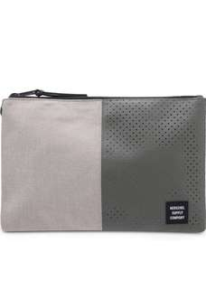 Herschel Supply Co. Network Large Pouch Light Khaki Crosshatch