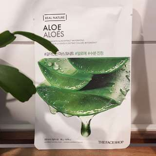 The Face Shop Real Nature Aloe Sheet Mask