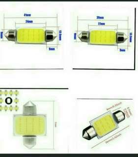 Confirm cheapest dome Car Reading Light COB 31MM/36MM /39MM/42MM White Car Festoon Interior Light Dome Lamp 12LED DC 12V