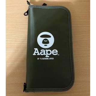 Aape 雜誌贈送 多功能  收納袋/小物包/護照包/護照夾
