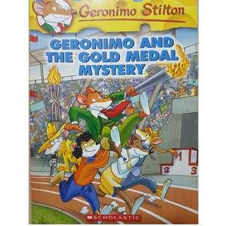 Geronimo Stilton-Geronimo and the Gold Medal Mystery
