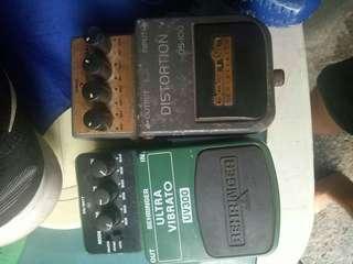 3 pcs Guitar fx