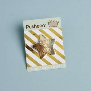Pusheen Spring 2018 celebration pin
