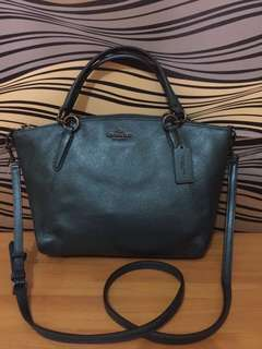 COACH SMALL KELSEY DARK TEAL