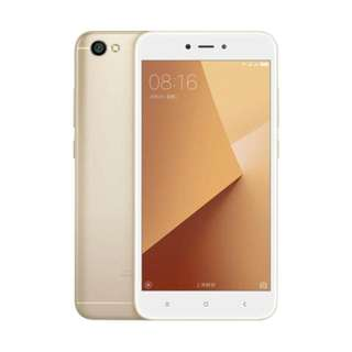 Xiaomi Redmi Note 5A 2/16GB Gold Garansi TAM