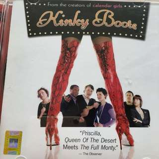 Kinky boots video cd
