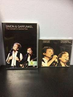 CD & DVD, The Concert in Central Park, S&G