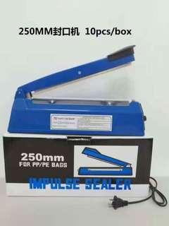 Impulse Plastic Sealer 250mm
